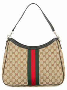 Gucci Pre-Owned Sherry Line shoulder bag - Brown