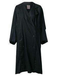 Issey Miyake Pre-Owned Cocoon coat - Black