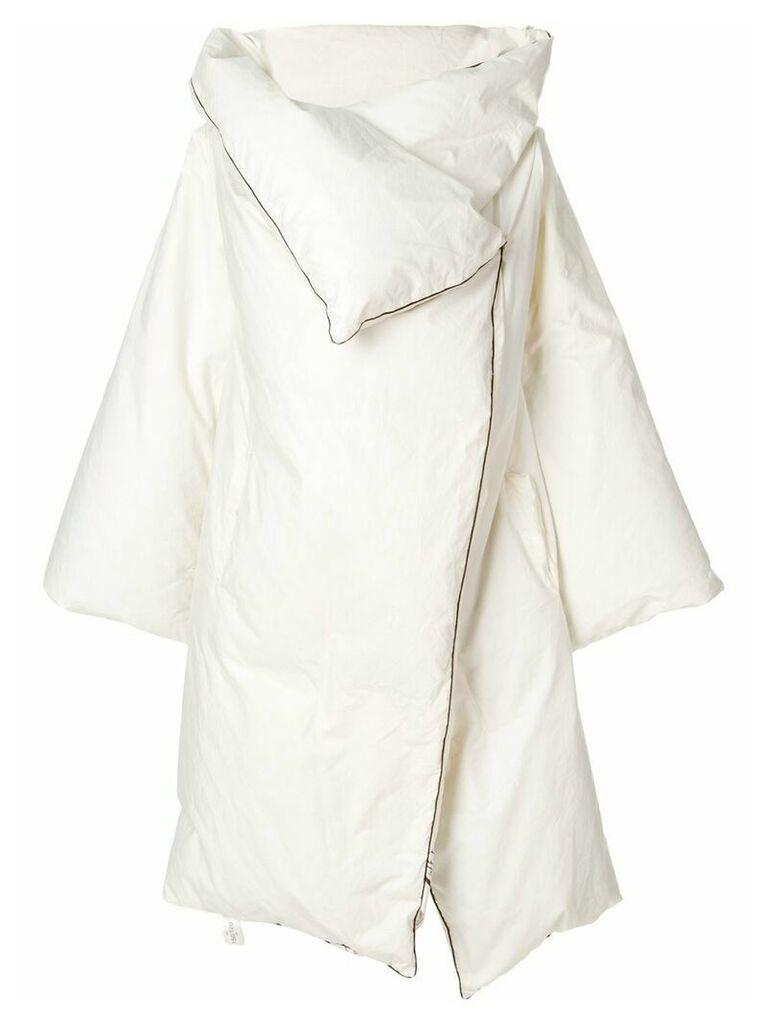 Maison Martin Margiela Vintage 1999 artisanal duvet coat - White