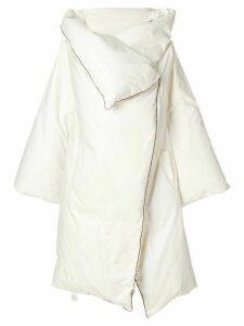Maison Martin Margiela Pre-Owned 1999 artisanal duvet coat - White