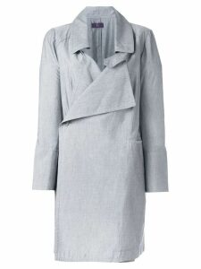 YOHJI YAMAMOTO PRE-OWNED lightweight coat - Grey