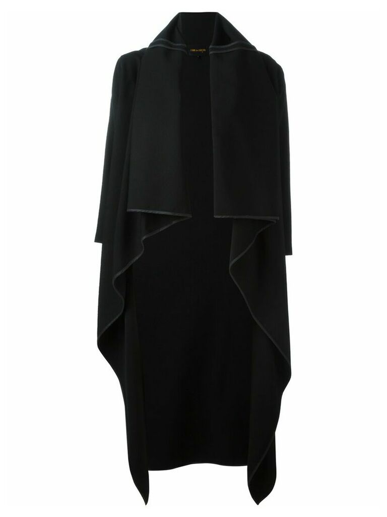 Comme Des Garçons Vintage shawl collar coat - Black