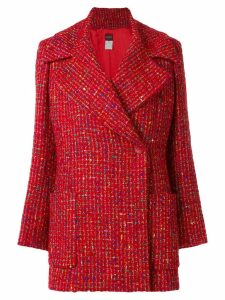Kenzo Pre-Owned revere collar coat - Red