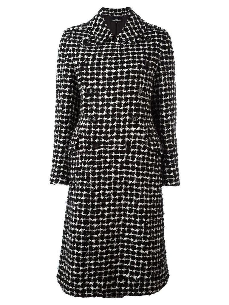 Comme Des Garçons Vintage Tricot coat - Black