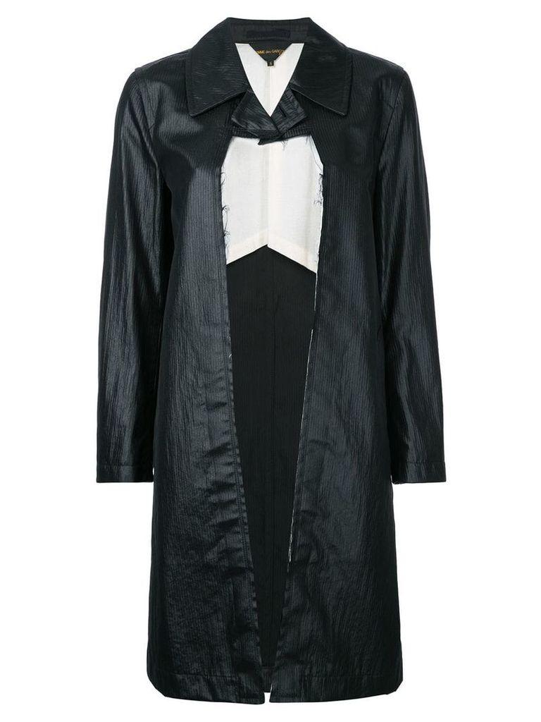 Comme Des Garçons Vintage dissected coat - Black