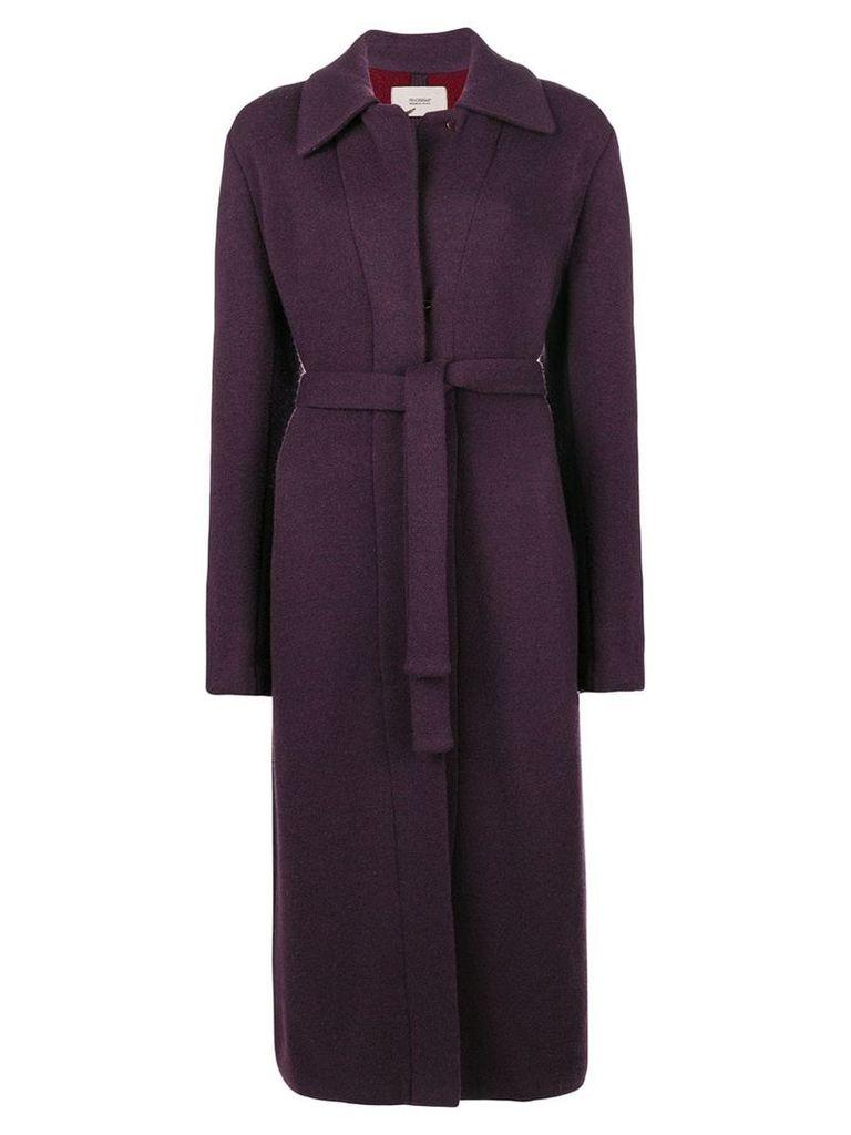 Fendi Vintage belted coat - Pink