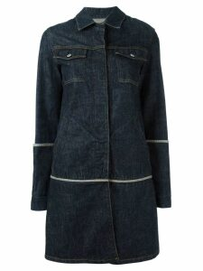 Helmut Lang Pre-Owned 1997 denim coat - Blue