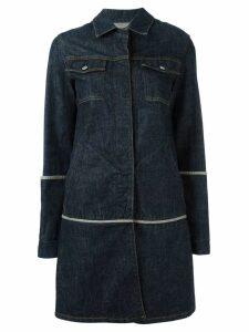 Helmut Lang Pre-Owned 1997 denim coat - Blue