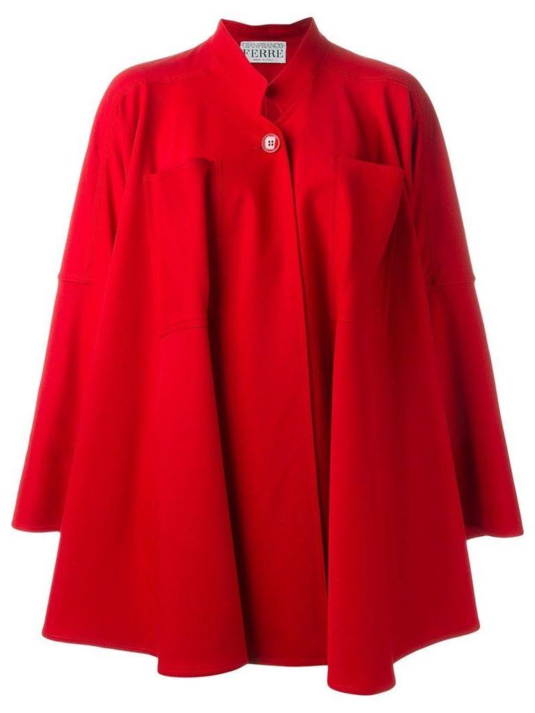 Gianfranco Ferre Vintage oversized coat - Red