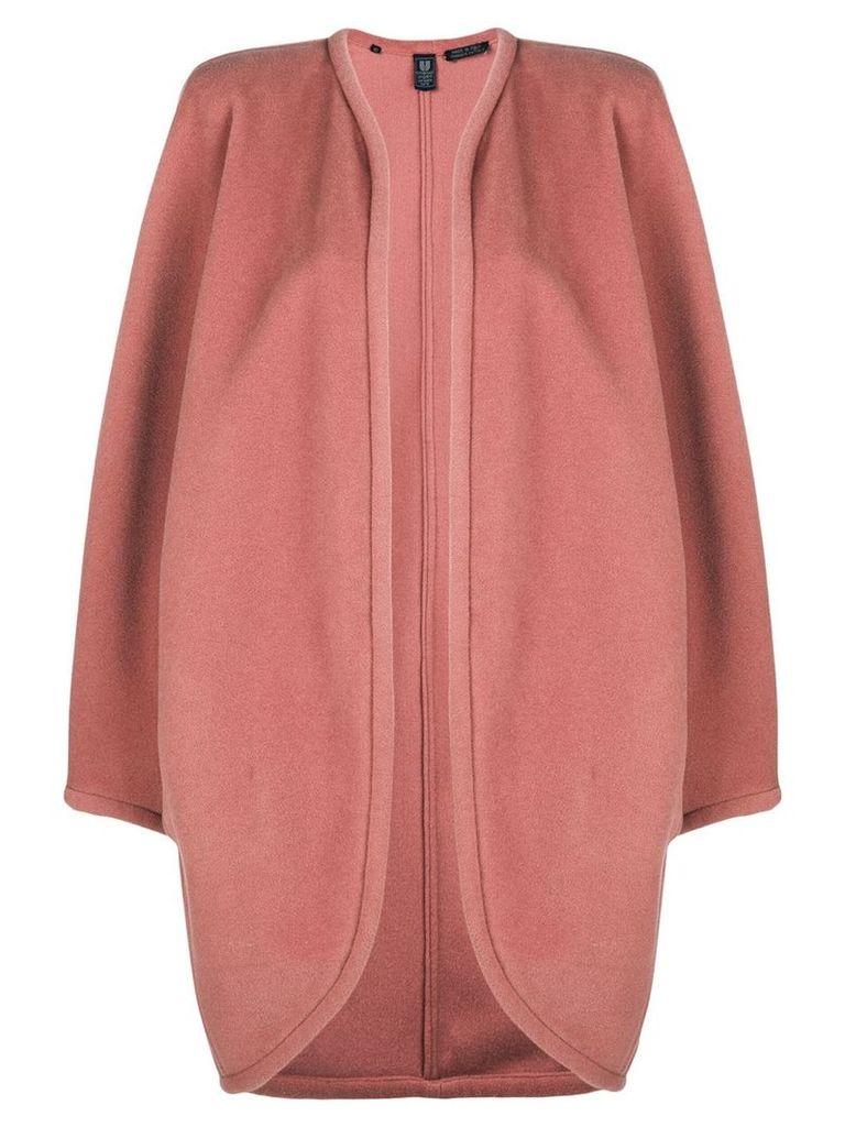 Emanuel Ungaro Vintage open front coat - Pink