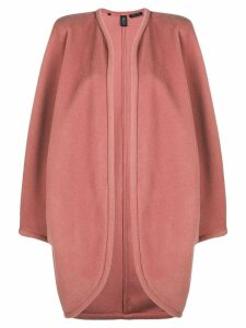 Emanuel Ungaro Pre-Owned open front coat - Pink