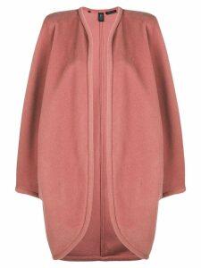 Emanuel Ungaro Pre-Owned open front coat - Pink