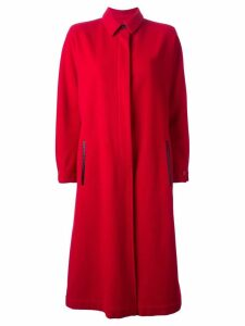 Gianfranco Ferré Pre-Owned long coat - Red