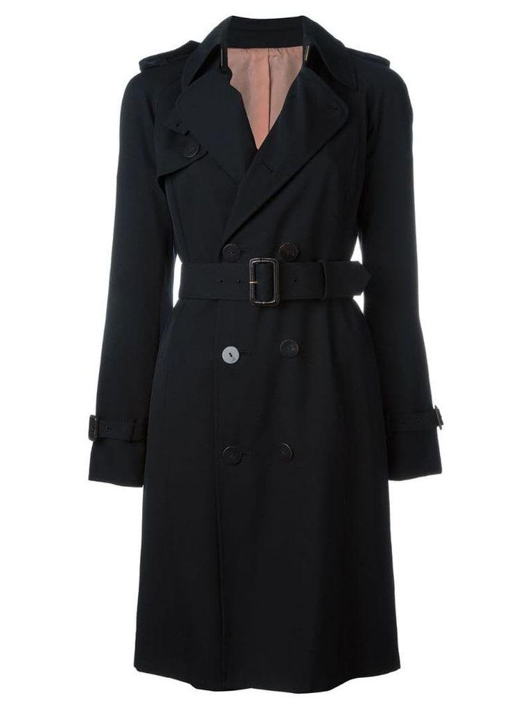 Jean Paul Gaultier Vintage belted trench coat - Black