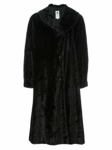 Emanuel Ungaro Pre-Owned faux fur coat - Black
