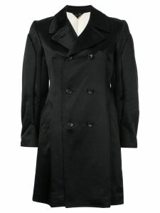 Comme Des Garçons Pre-Owned classic double breasted coat - Black
