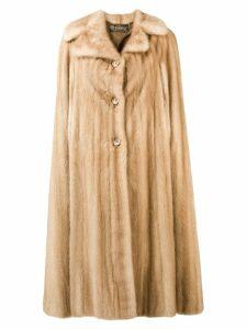 A.N.G.E.L.O. Vintage Cult buttoned coat - Neutrals