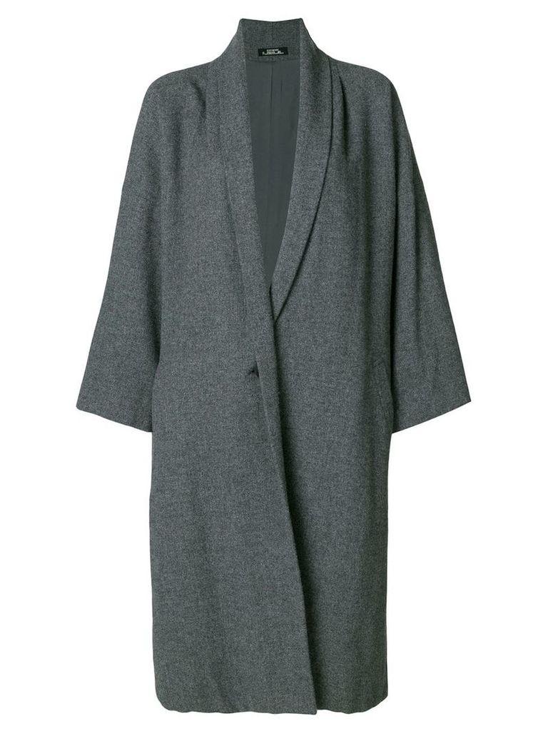 Issey Miyake Vintage oversized coat - Grey
