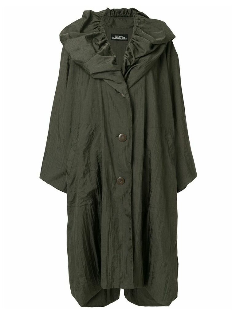 Issey Miyake Vintage oversized raincoat - Green