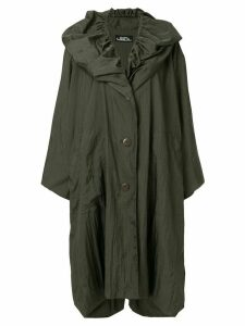 Issey Miyake Pre-Owned oversized raincoat - Green