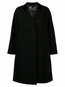 William Vintage 1965 flared midi coat - Black
