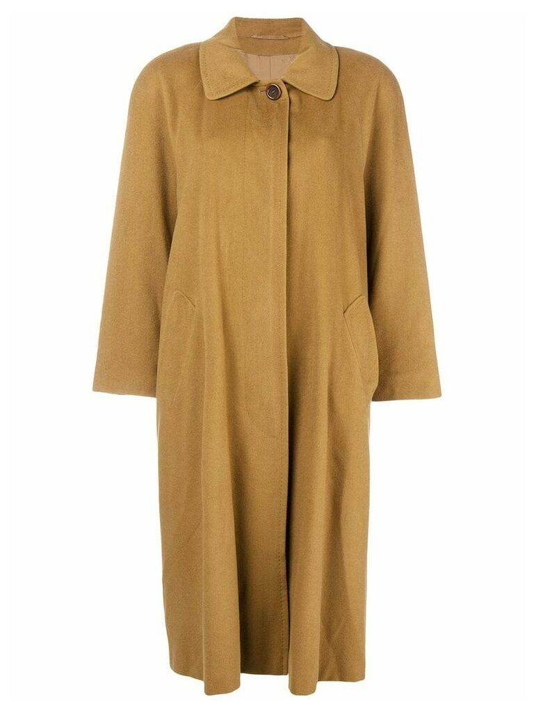 Burberry Vintage classic mid-length coat - Brown