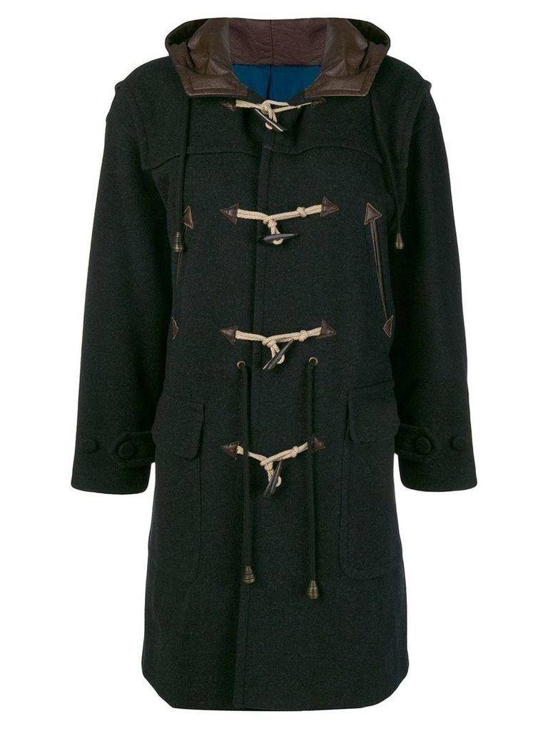 Jean Paul Gaultier Vintage mid-length duffel coat - Black