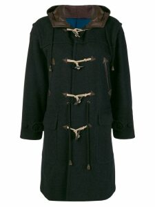 JEAN PAUL GAULTIER PRE-OWNED mid-length duffel coat - Black