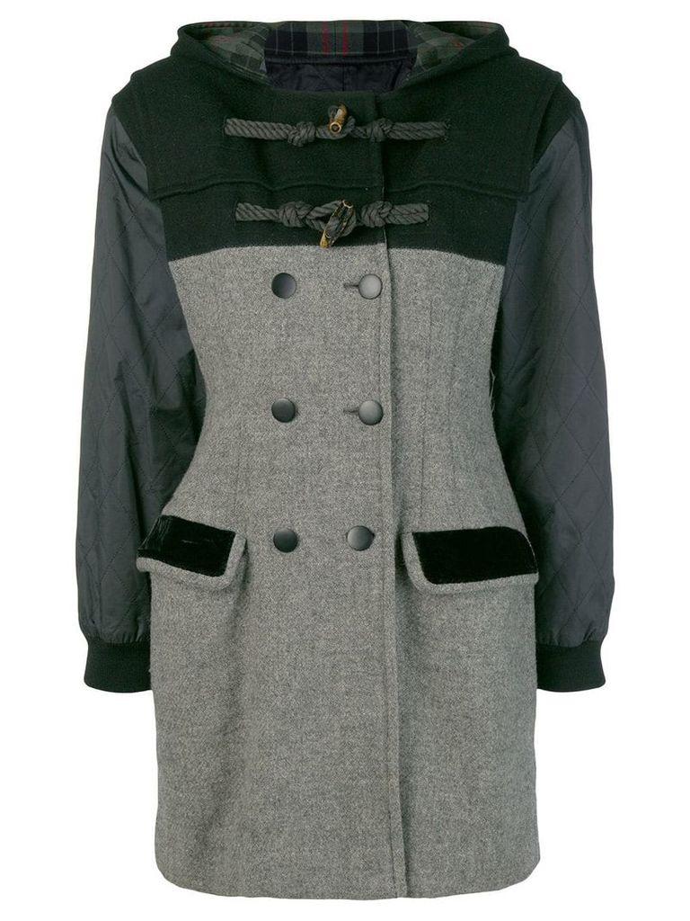 Jean Paul Gaultier Vintage double breasted duffle coat - Grey
