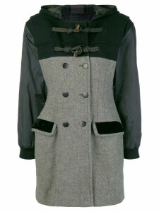 Jean Paul Gaultier Pre-Owned double breasted duffle coat - Grey