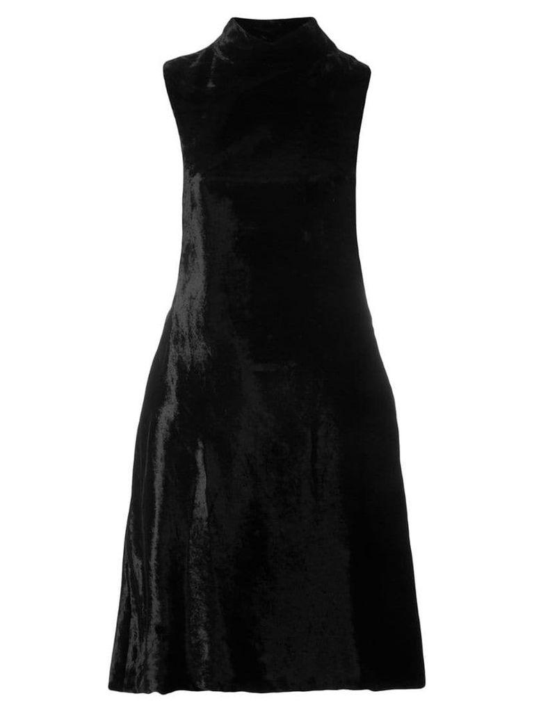 William Vintage 1969 sleeveless mini dress - Black