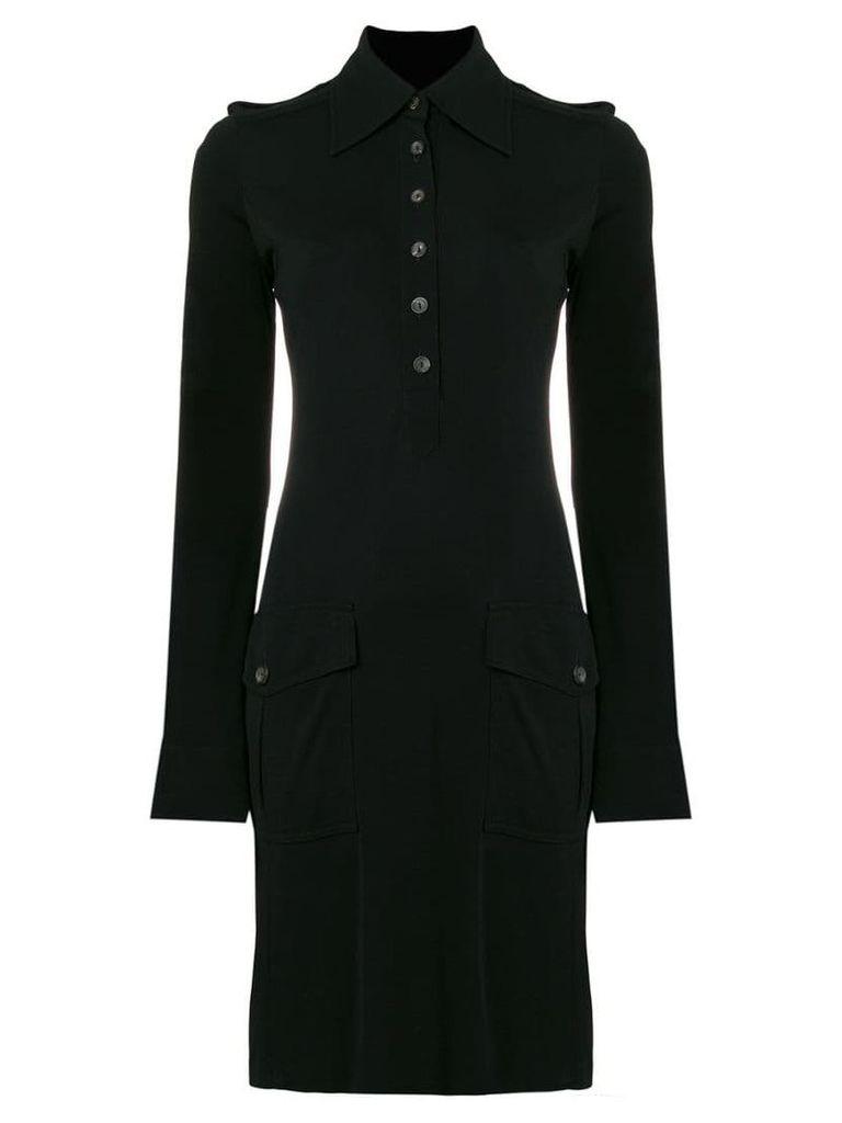 Gucci Vintage 1996 Safari mini dress - Black