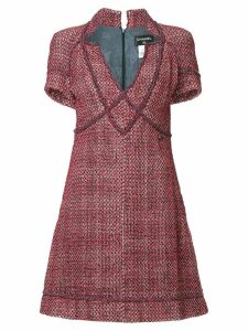 Chanel Pre-Owned boucle dress - Red