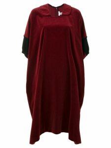 Comme Des Garçons Pre-Owned oversized T-shirt dress - Red