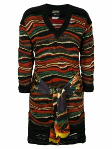 Jean Paul Gaultier Pre-Owned extra sleeves knitted dress - Black