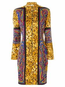 Versus Pre-Owned leopard print mini dress - Multicolour