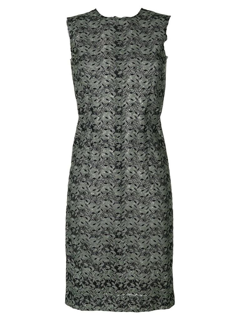 Comme Des Garçons Vintage sleeveless lace dress - Green