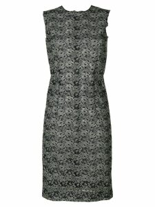 COMME DES GARÇONS PRE-OWNED sleeveless lace dress - Green
