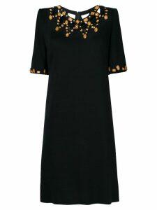 A.N.G.E.L.O. Vintage Cult cutout neck short dress - Black