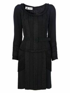 Lanvin Vintage fringed dress - Black