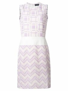 Jean Louis Scherrer Pre-Owned woven sleeveless dress - White