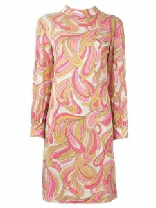 Emilio Pucci Pre-Owned printed shift dress - Pink
