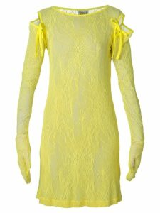 Walter Van Beirendonck Pre-Owned 'Fetish for Beauty' lace dress -