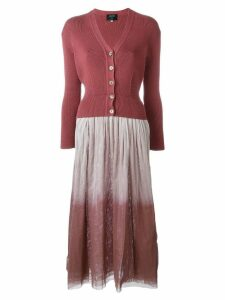 Jean Paul Gaultier Pre-Owned layered dress - Pink