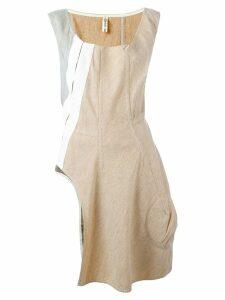 Comme Des Garçons Pre-Owned asymmetrical dress - Neutrals