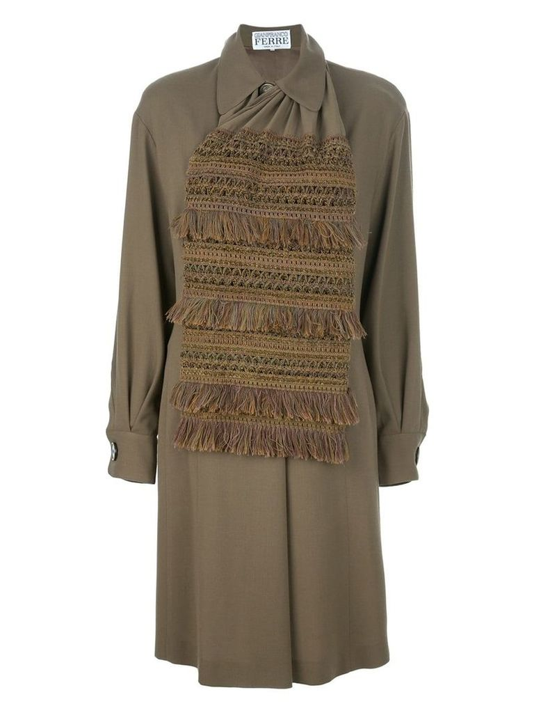 Gianfranco Ferre Vintage shift dress - Green