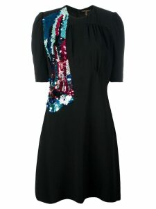 Louis Vuitton Pre-Owned sequinned detail dress - Black