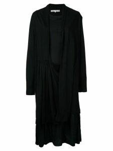 Comme Des Garçons Pre-Owned open jacket and dress - Black