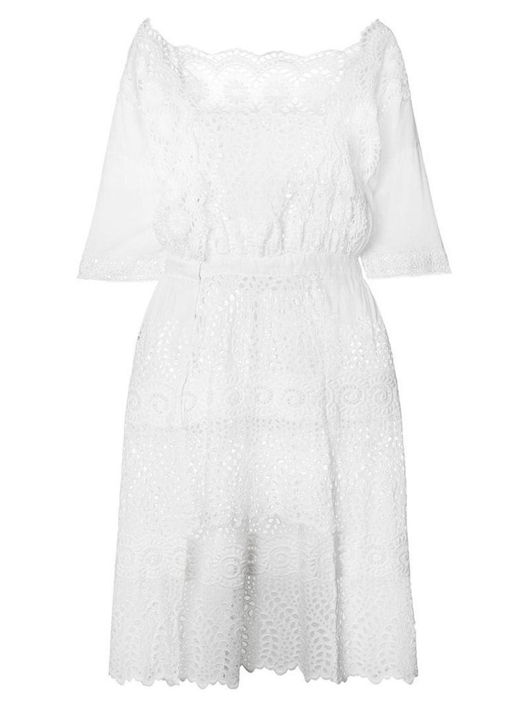 Great Unknown Vintage broderie anglaise dress - White