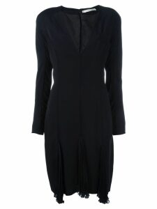 Christian Dior Pre-Owned v-neck dress - Black